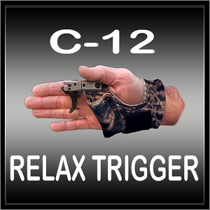 C-12 Relax Trigger - Large - Right Hand